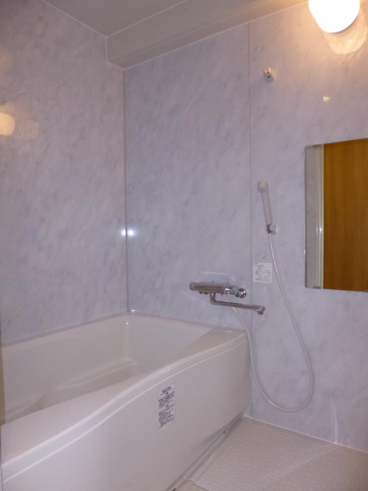 工事後浴室