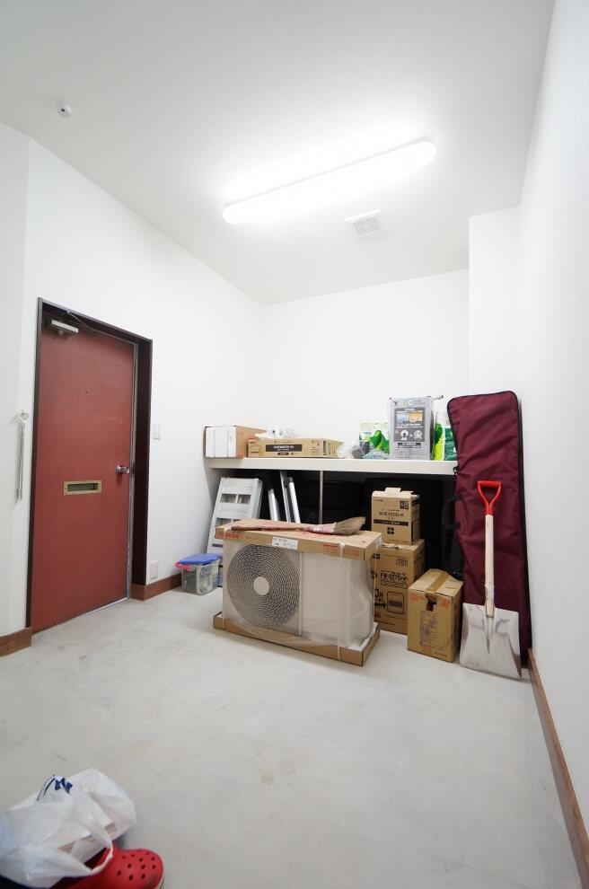 多目的収納室
