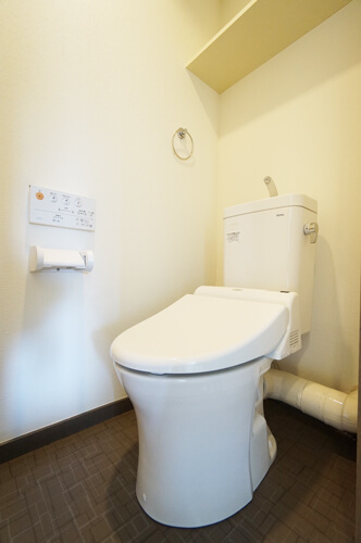 工事後トイレ