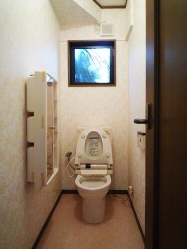 内装工事後トイレ