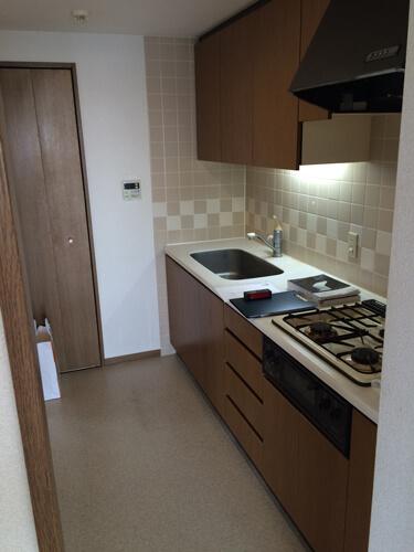 リフォーム前のキッチン画像