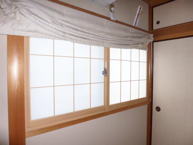 工事後窓まわり