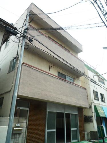 工事前の建物正面