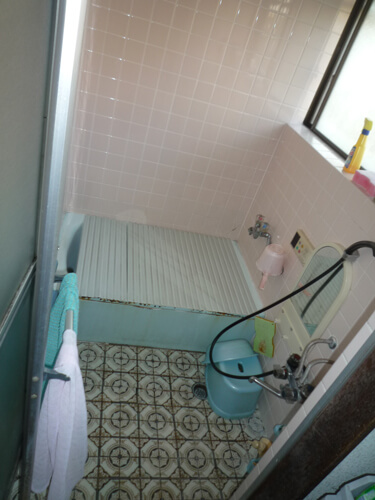 リフォーム前浴室