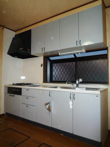 工事前キッチン