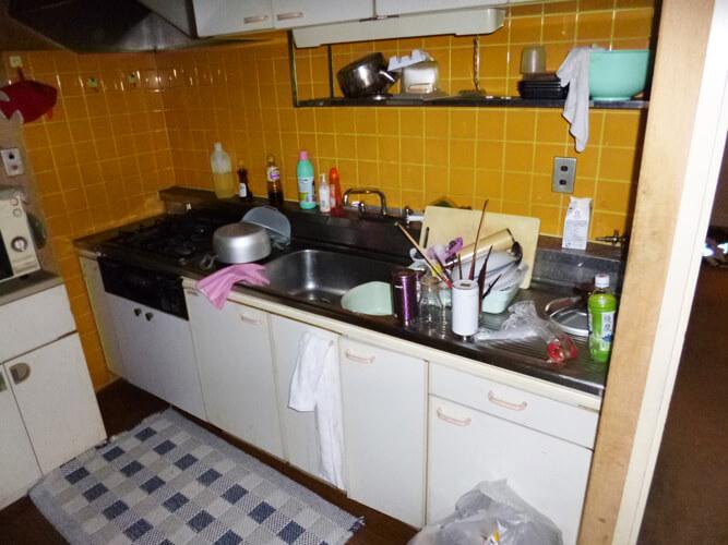 工事後キッチン