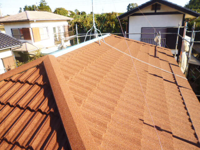 工事後屋根