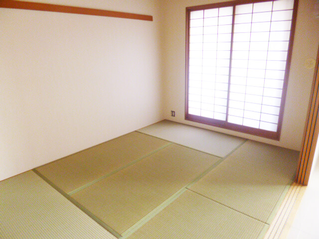 内装リフォーム工事後和室