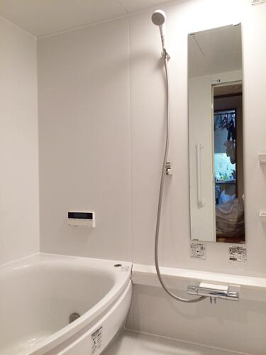 リフォーム後浴室