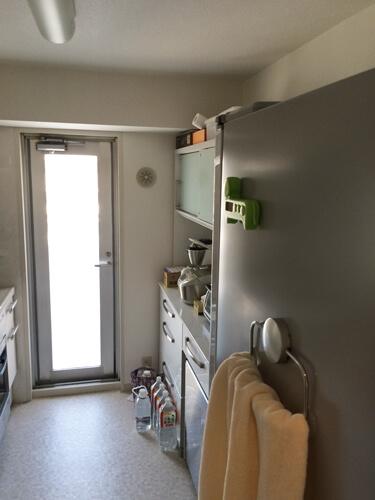 内装工事前キッチン