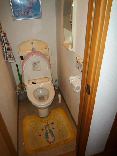 工事前の普通のトイレ