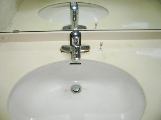 工事後洗面室