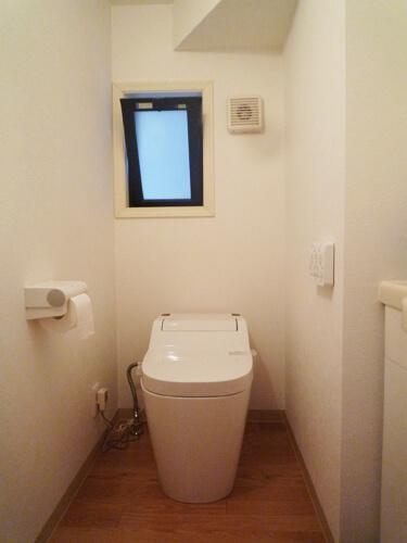 トイレアフター画像