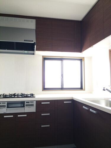 工事後システムキッチン