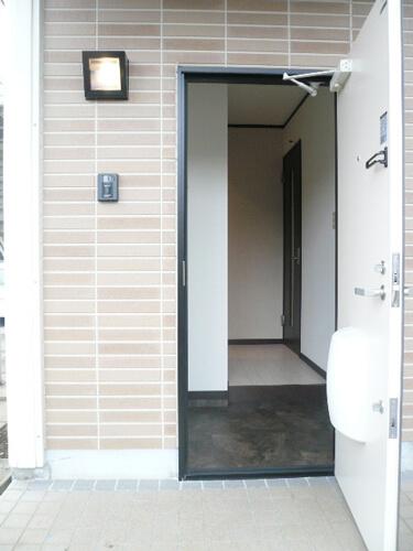 工事後玄関 トステム